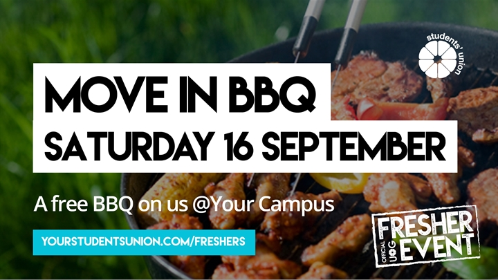 Move in BBQ @Your Campus