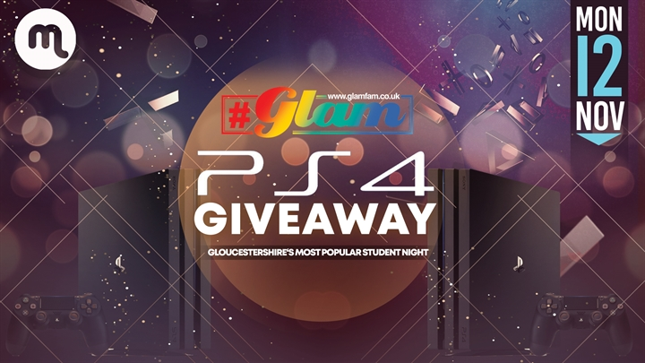 Glam | Win a PS4 package!