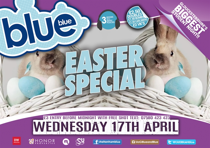 Blue and Blue | Easter Special