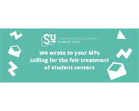 We wrote to your MPs calling for the fair treatment of student renters