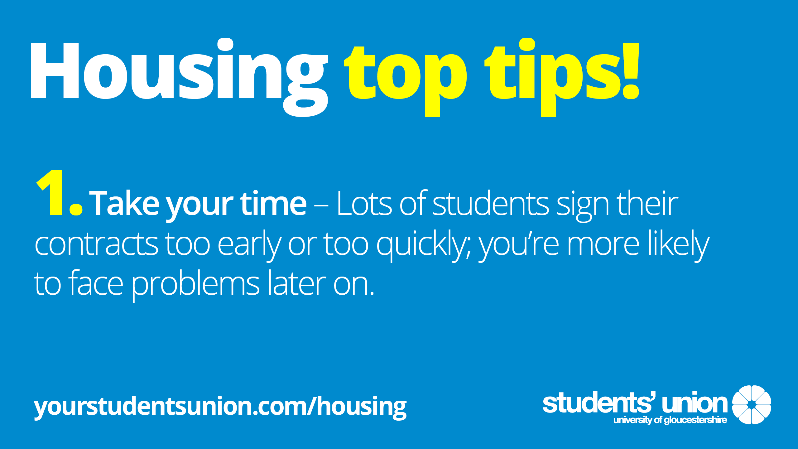 Housing and Community | #TeamGlos