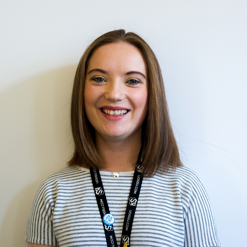 Phoebe Crook, 2018/19 Students' Union Community Officer